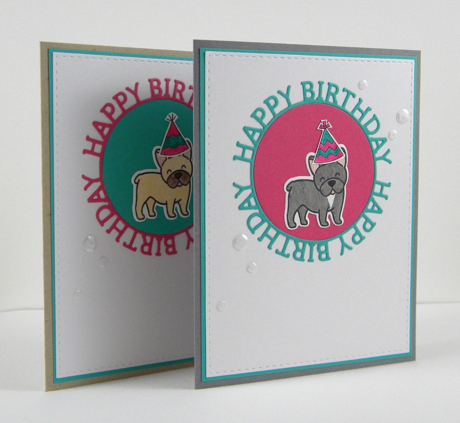 Frenchie Birthday Card French Bulldog Birthday Card Dog Etsy