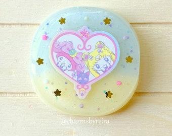 Sailormoon x My Melody Keyring/Keychain/Bag charm/Magnet