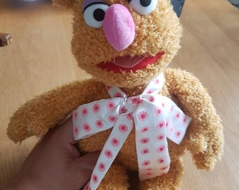 "1998 Muppets Fozzy Bear 14"" plush doll"