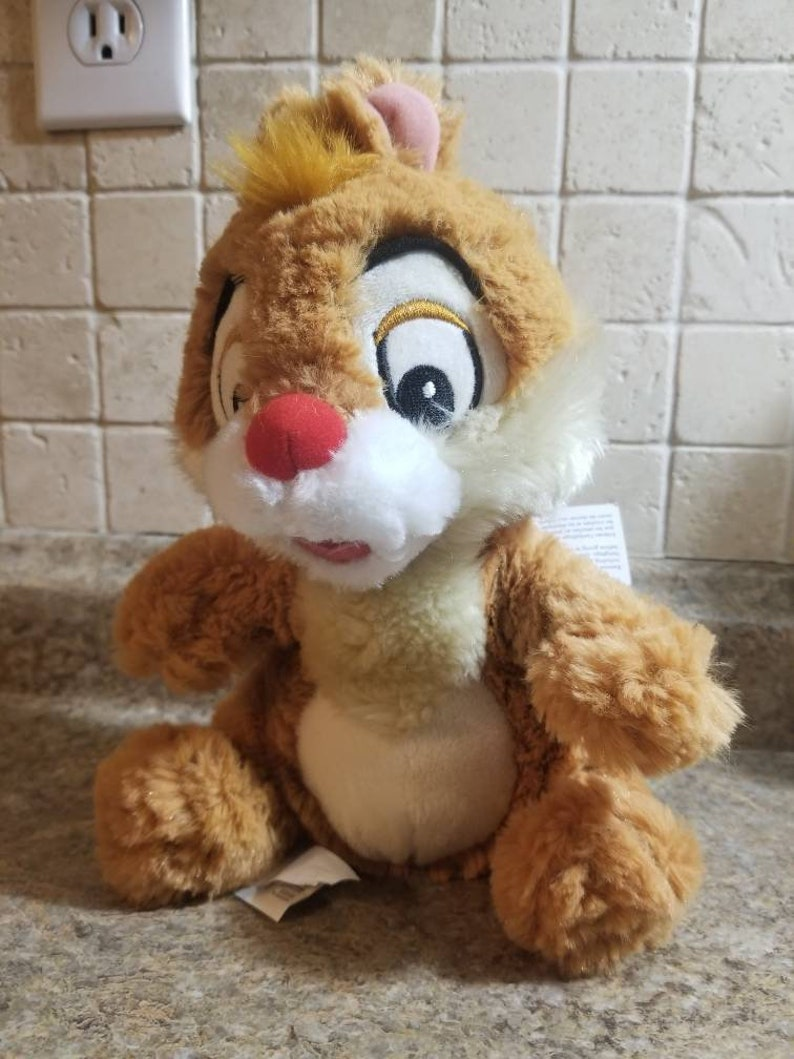 Authentic Disney Store Chip and Dale Rescue Rangers Plush Chipmunk doll