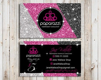 Paparazzi business cards vistaprint etsy pink paparazzi business cards vistaprint paparazzi business cards template paparazzi accessories paparazzi jewelry paparazzi consultant reheart Images