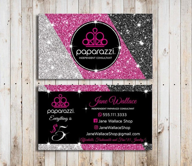 image 0 - Paparazzi Business Card Template