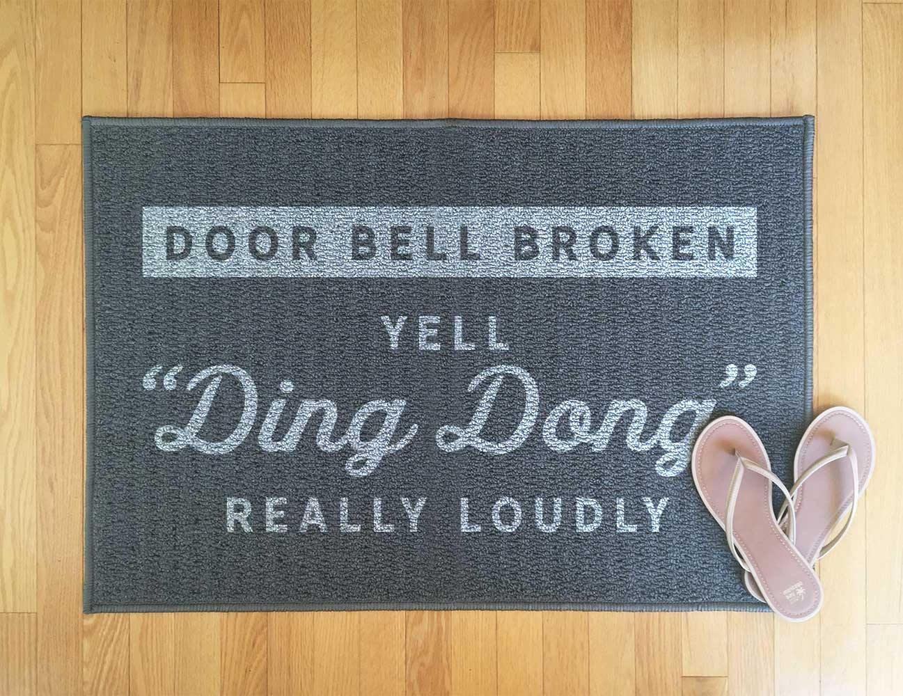 funny welcome mat funny front door mat indoor rug outdoor etsy. Black Bedroom Furniture Sets. Home Design Ideas