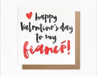happy valentines to my fiance