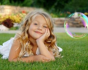 Overlay Soap Bubbles   - bubble clipart (50 Photoshop overlays)