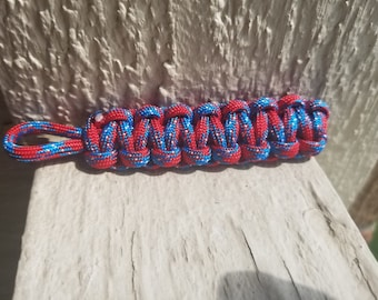 ON SALE paracord keychain without key ring