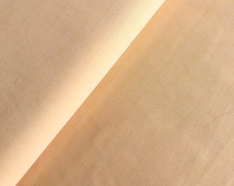 Cotton fabric slightly mottled, yellow