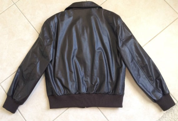 incredible prices watch sale retailer Mens WW2 style Leather Bomber Jacket