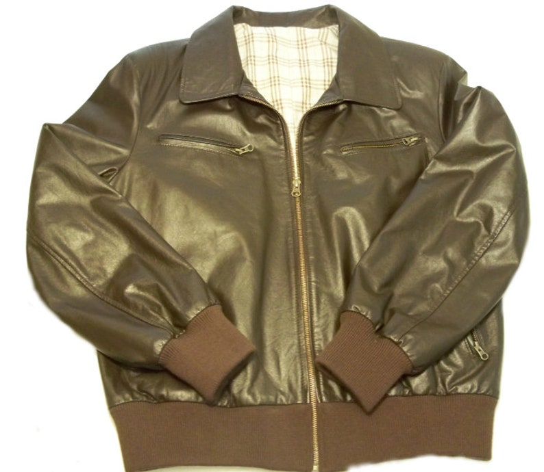 880cd139a59 Mens WW2 style Leather Bomber Jacket