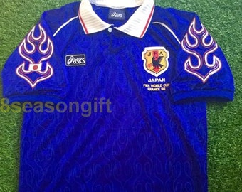 72ac9de74 Japan 1998 World Cup France Soccer Jersey Football Shirt Maillot Trikot S M  L XL