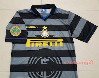 1997 Internazionale Inter Milan  10 RONALDO Uefa Cup Soccer Jersey M L XL e1cf8c0bf