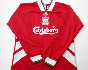 900017d7de4 Liverpool 1993-1995 Football Shirt Soccer Jersey S M L XL