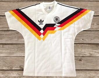 20f3a47f1 West Germany 1990 World Cup Football shirt Soccer Jersey Trikot S M L XL