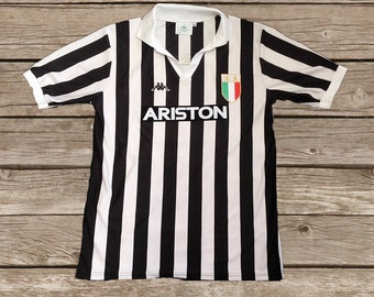 3e5a81347 Juventus 1984-85 No.10 Football Shirt Soccer Jersey Calcio S M L XL
