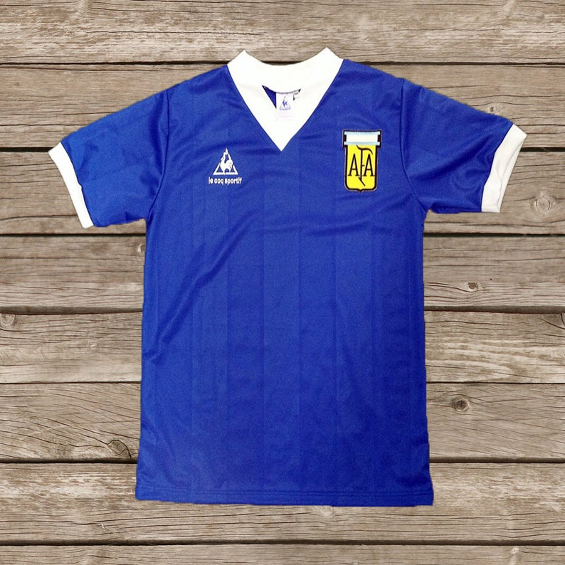 f0e1e9e3194 Argentina World Cup 1986 Maradona 10 Hand Of God Soccer