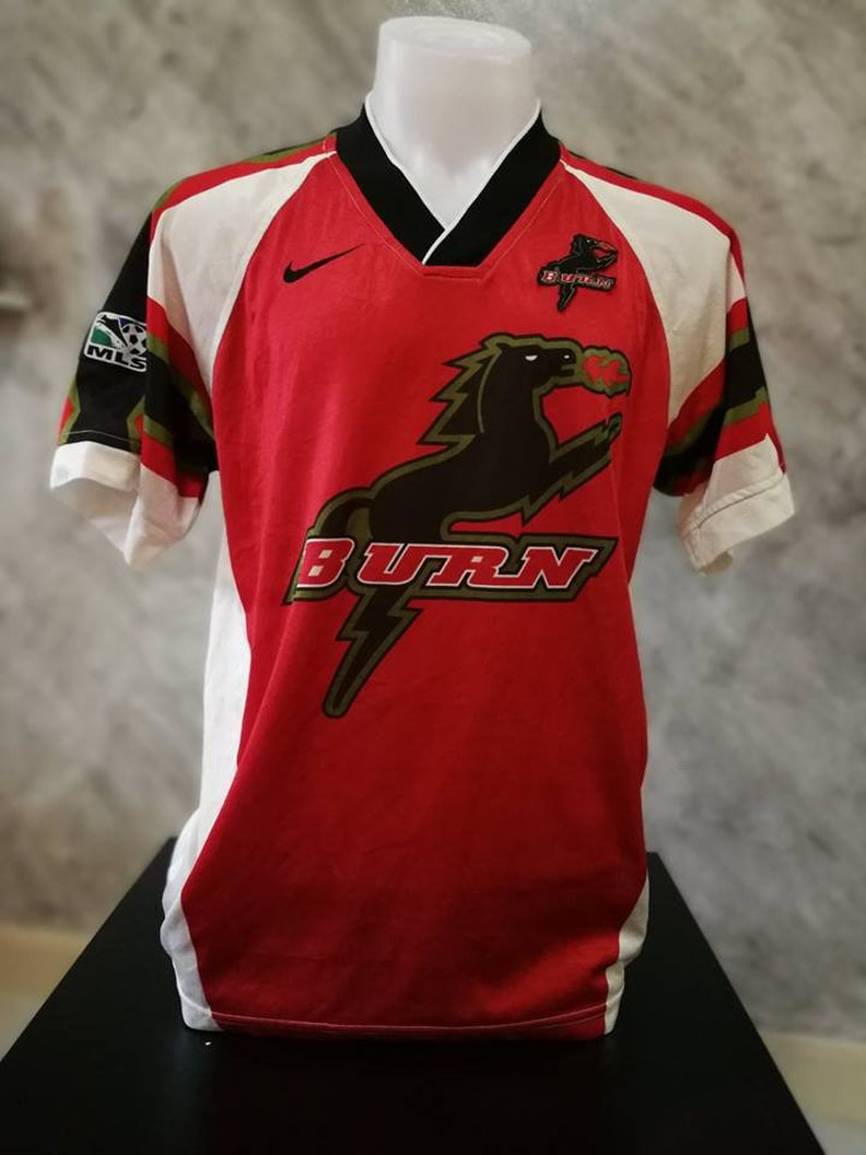 big sale 6b7e7 88467 Dallas Burn FC Dallas 1996 HOME Football Shirt Soccer Jersey Calcio M
