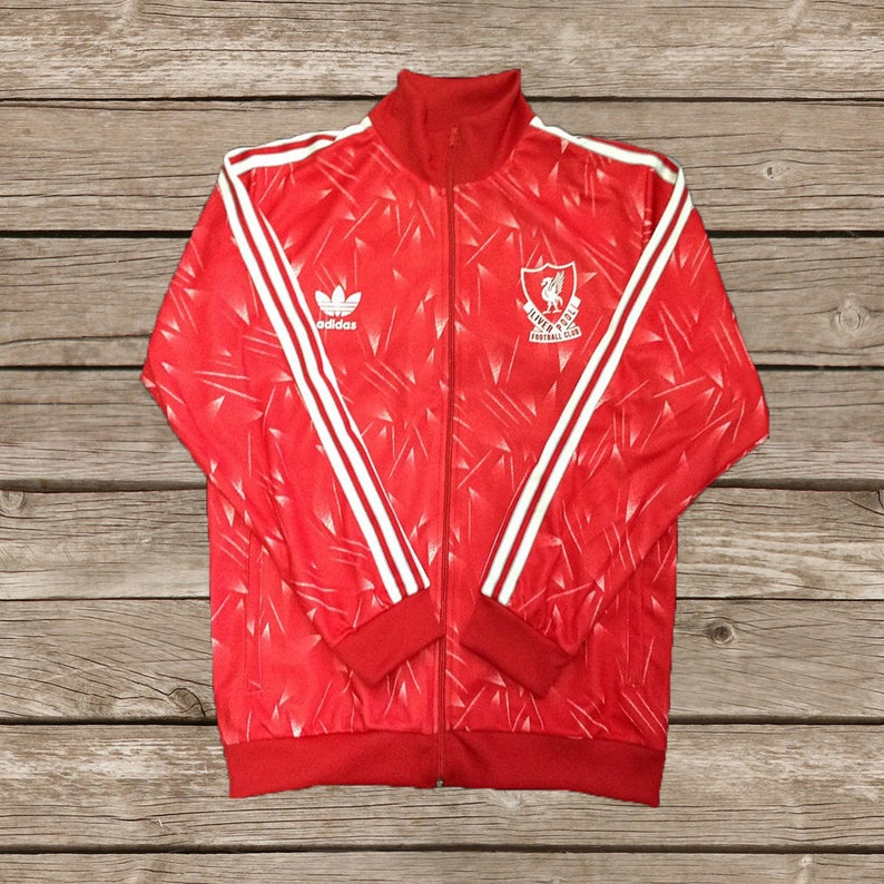 e48b8dcaf Liverpool 1990 Candy Track Top Jacket Soccer Jersey Football