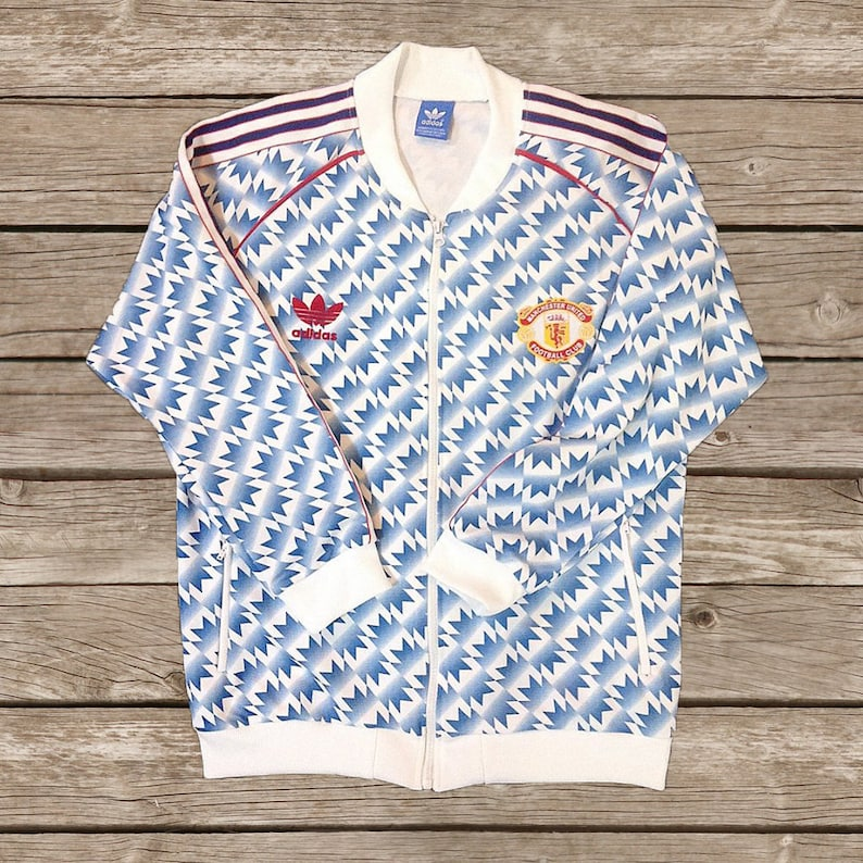 Manchester United 1992 Track Top Jacket Soccer Jersey Football  08724adef