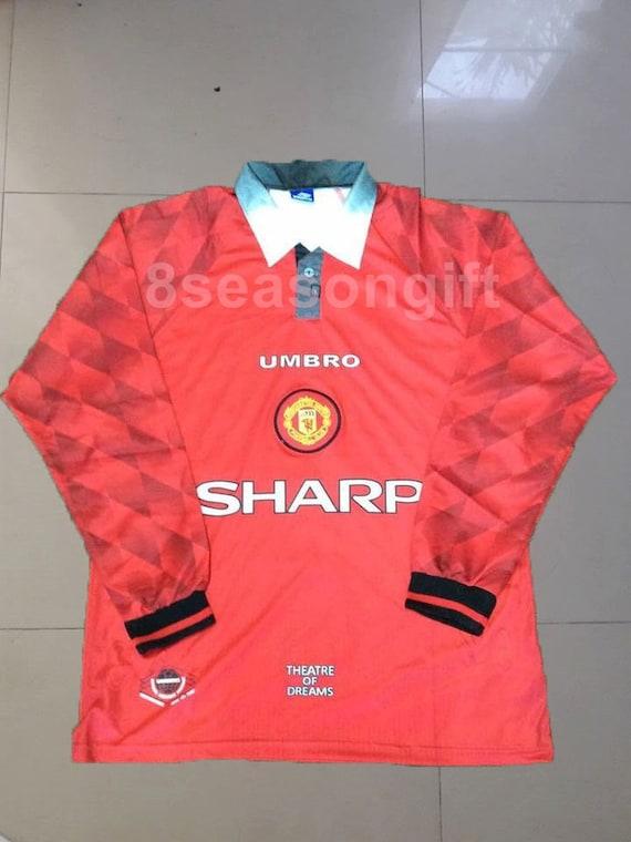 info for 82eda e30de Manchester United 1996 Soccer Jersey Football Shirt
