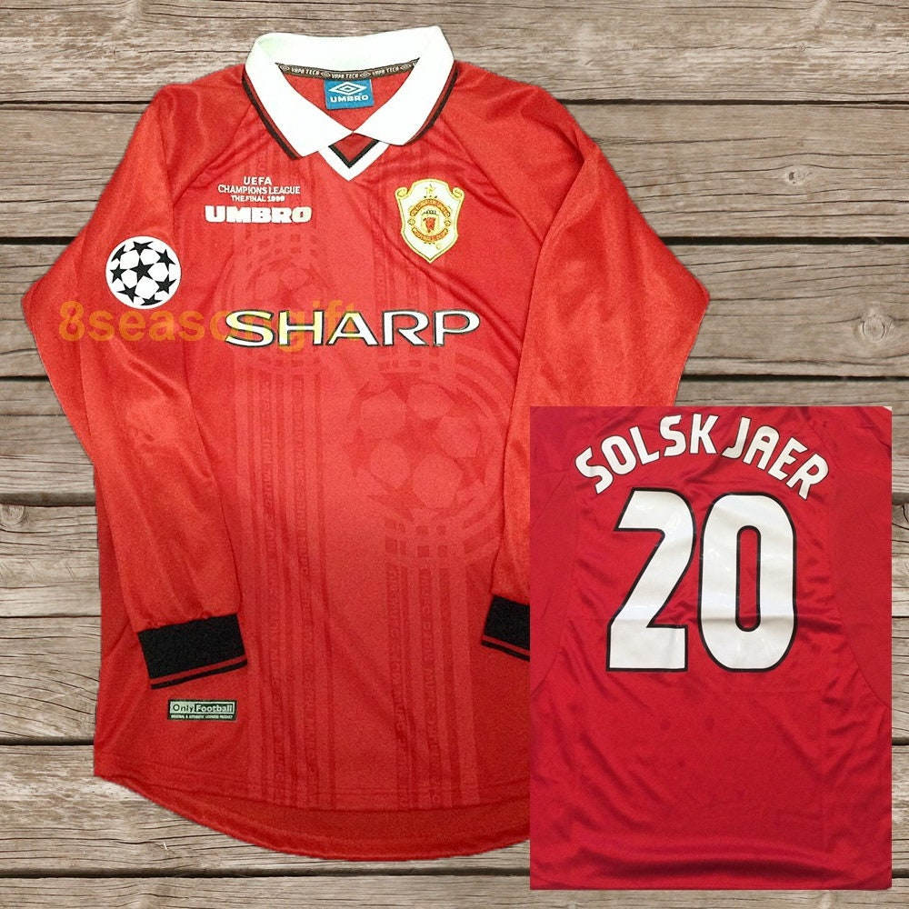 505abb190ff Manchester United 1999 Champions League shirt - Score Draw