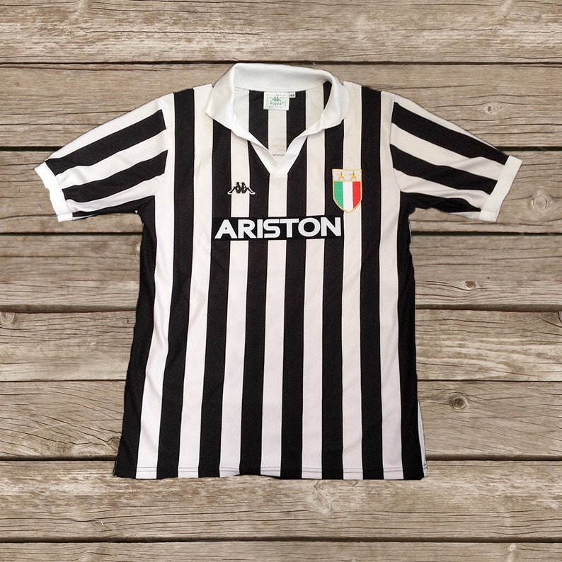 23410c744 Juventus 1984-85 No.10 Football Shirt Soccer Jersey Calcio S M