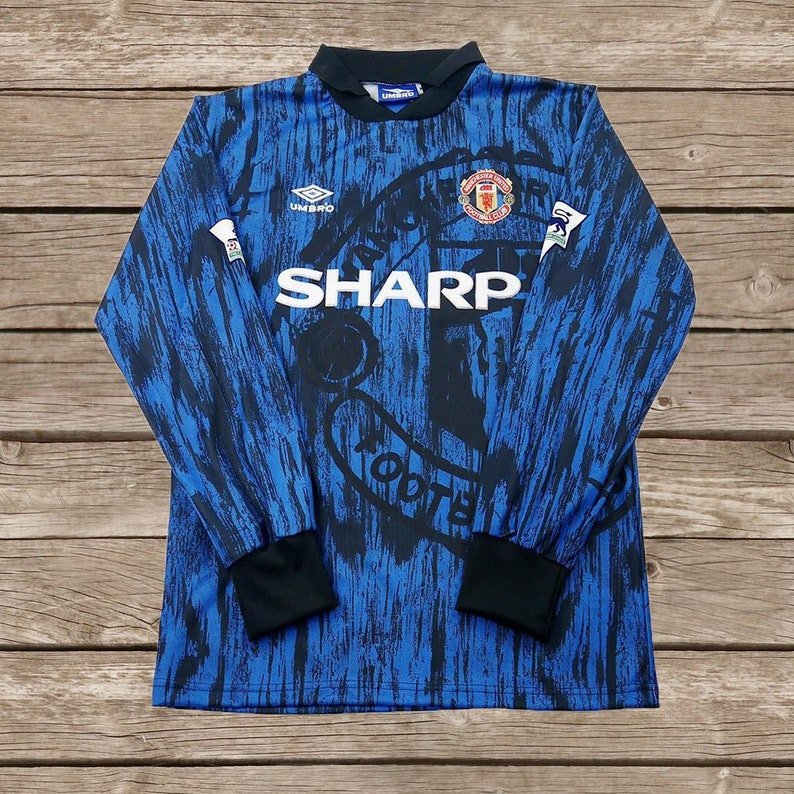 0b57eafea Manchester United 1992-1993 Away 7 CANTONA 11 GIGGS Soccer