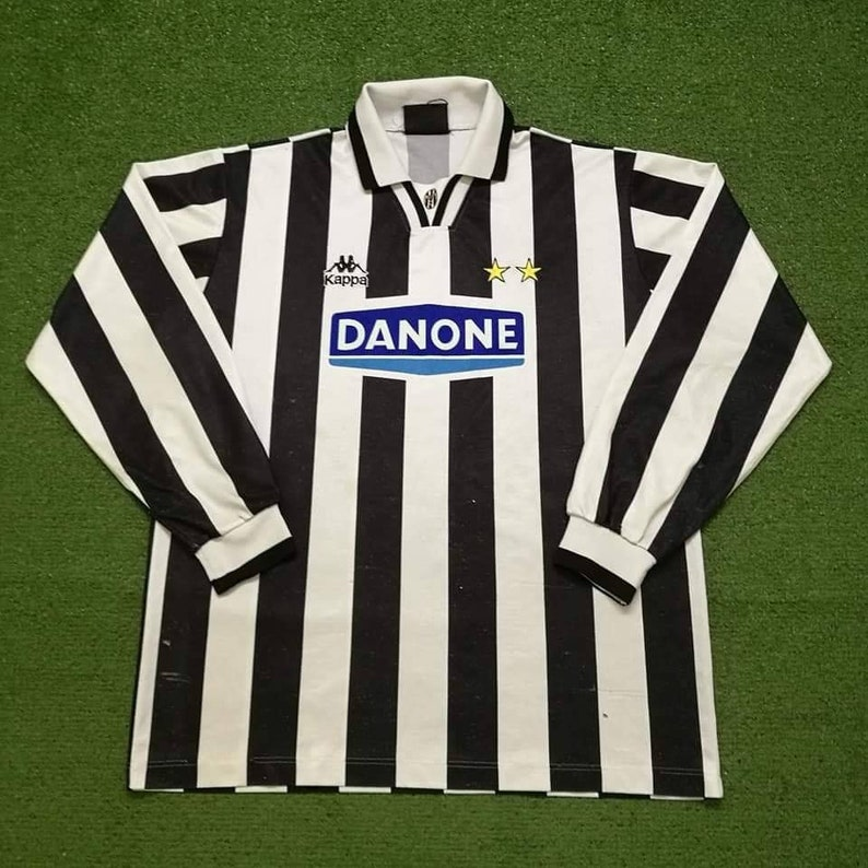 3af83782b 1994 Juventus Long Sleeve Socer Jersey Football Shirt Calcio