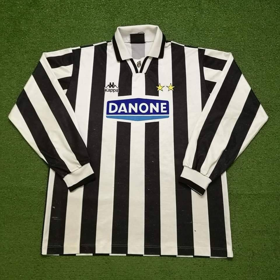1994 Juventus Long Sleeve Jersey Football Socer Football Jersey Shirt Calcio Maglia L cccd3a