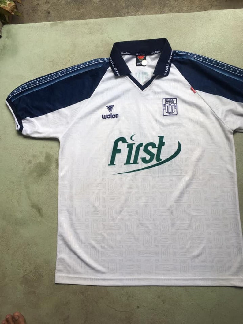 Alianza lima Soccer Peru Jersey Size S M L