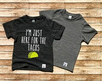 d0c9b662d I'm Just Here For the Tacos Shirt - Fiesta Birthday Shirt - Taco Birthday  Shirt - Birthday Party Shirt - Fiesta Shirt Toddler Tri-Blend