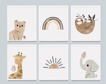 Animal Wall Decor For Nursery from i.etsystatic.com