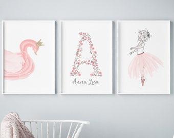 Girls Room Art Etsy