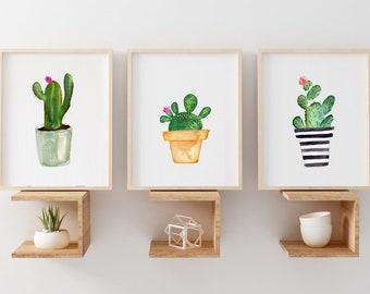 dbdd1ff7a8a Cactus wall art