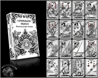 Lenormand Oracle | Transformation Oracle | Divination Cards