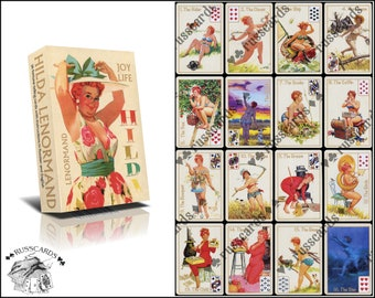 HILDA LENORMAND | Divination Cards | Lady's Oracle