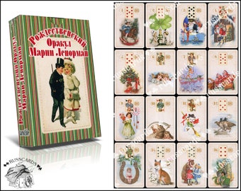 The Marie Lenormand Christmas Oracle | Divination Cards | Christmas Gift