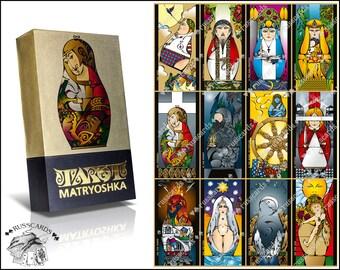 Tarot Matryoshka | Divination Cards | Russian Tarot