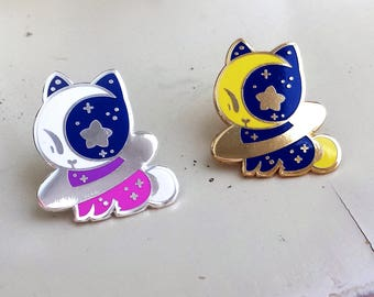 Milky Way ~1.25x1.25 Hard Enamel Pins