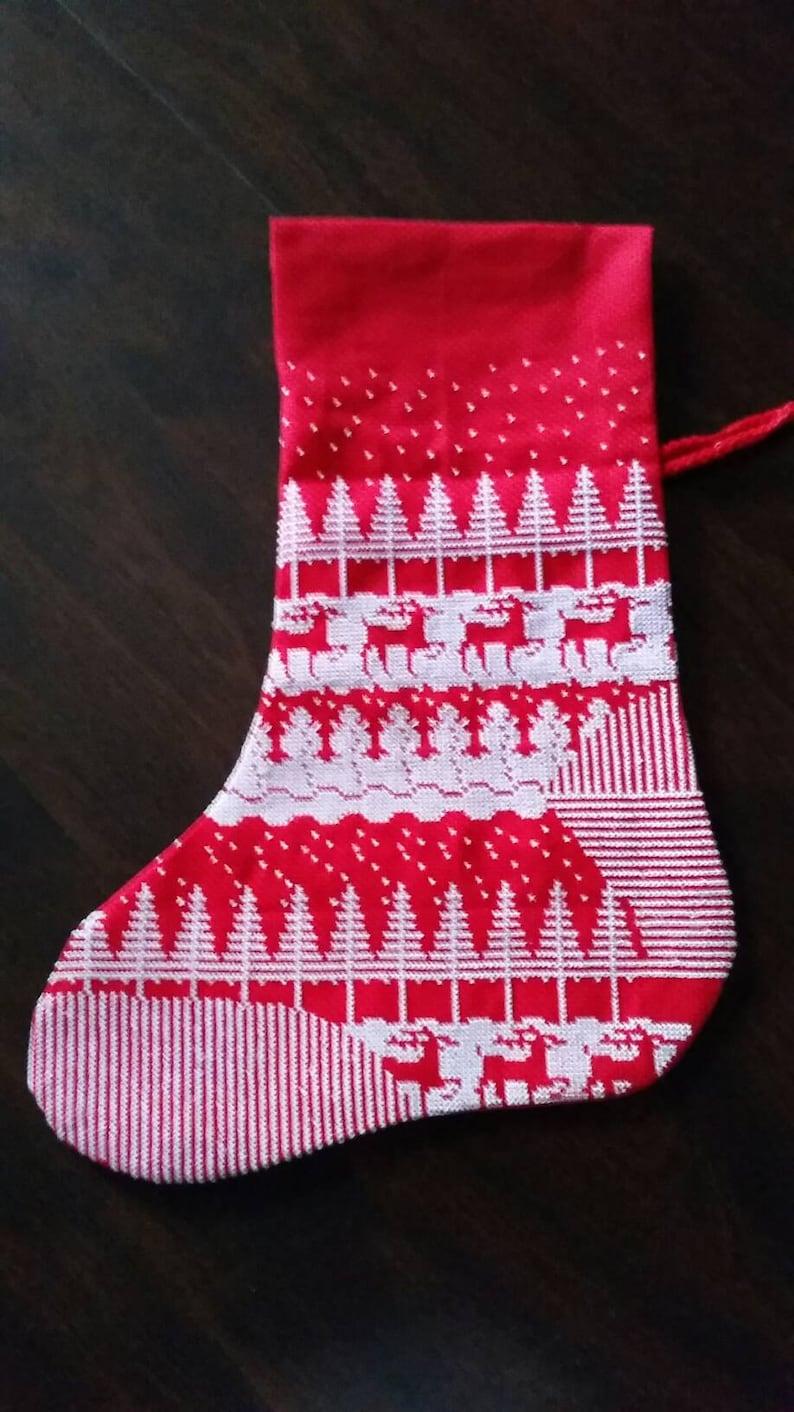 Winter Wonderland Christmas Stocking