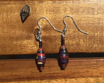 Night-Life Beach-Inspired Ugandan Jewelry Earrings
