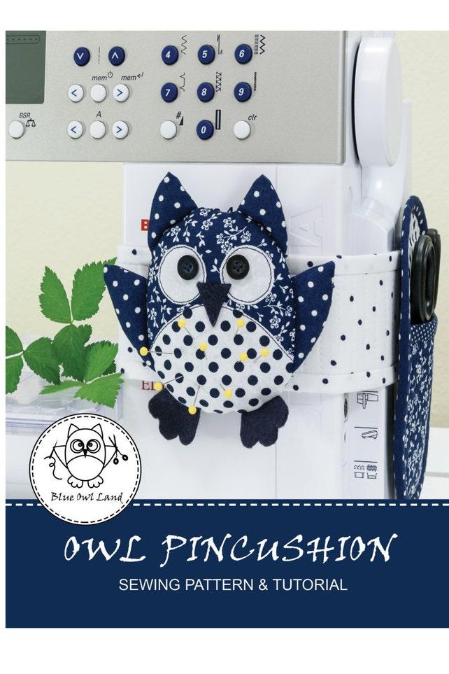 OWL PINCUSHION SEWING Pattern. pdf sewing pattern. owl | Etsy