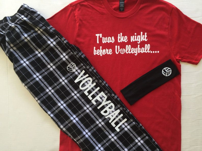 Twas the Night Before Volleyball PJ Gift Set S S  66ea5d39f