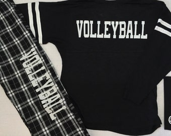 Volleyball Pajama Set Pant and Shirt