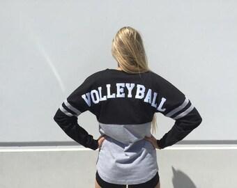 Spirit Volleyball Cotton Pom Pom Jersey