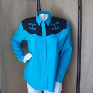 Cowboy-Boot Shirt sz 17 12-34 Cowboy-Cowgirl Shirt Sheplers Western Shirt Vintage Men/'s Western Shirt