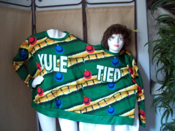 Christmas Sweater Joke For Two Twin Sweater Ugly C
