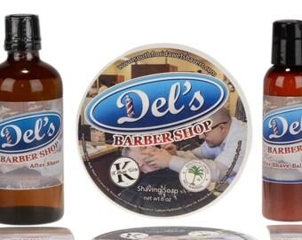 Del's Barbershop Shaving Set