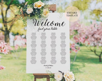 wedding seating chart template baby shower seating chart wedding seating plan printable seating chart template gold wedding seating