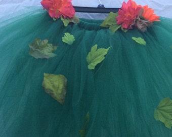 Woodland fairy tutu