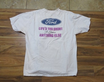 Built Ford Tough Racing Nascar Licensed pocket tee Shirt Sizes Small To 5XL